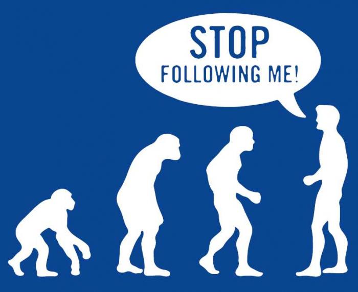 Tricou Stop Following Me 0