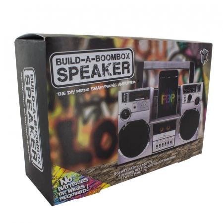 Amplificator smartphone Boombox DIY1