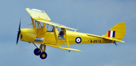Avionul De Havilland Tiger Moth [1]