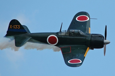 Avionul Mitsubishi Zero [1]