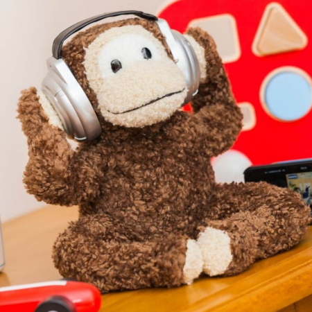 Boxa interactiva portabila - Monkey Music0