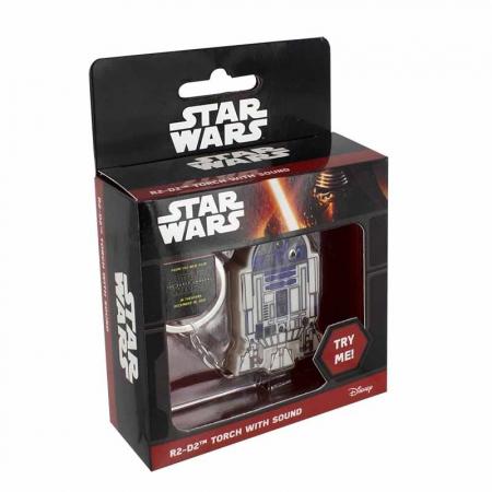 Breloc cu sunet si lumini R2-D22