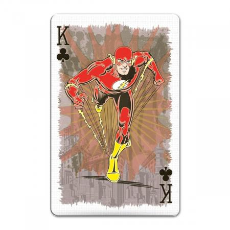 Carti de joc Waddingtons DC Retro1