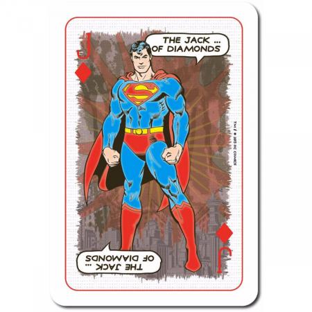 Carti de joc Waddingtons DC Retro3