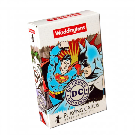 Carti de joc Waddingtons DC Retro0