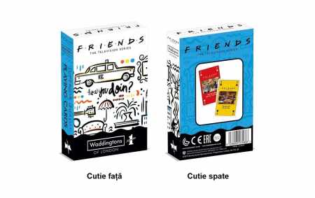 Carti de joc Waddingtons Friends1