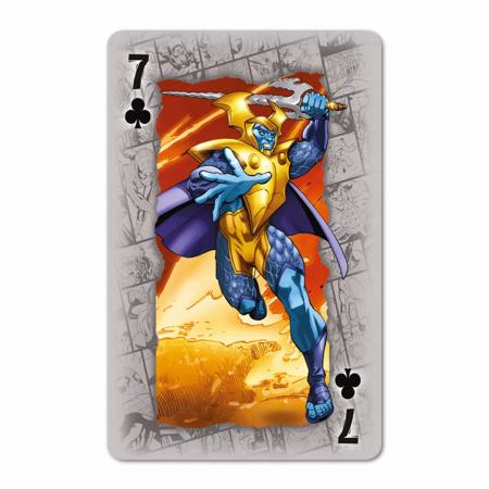Carti de joc Waddingtons Marvel3