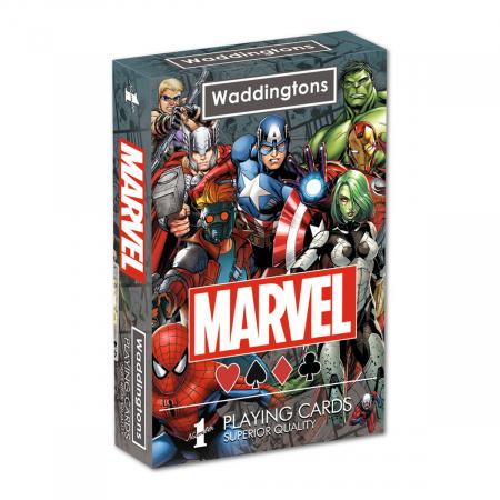 Carti de joc Waddingtons Marvel0