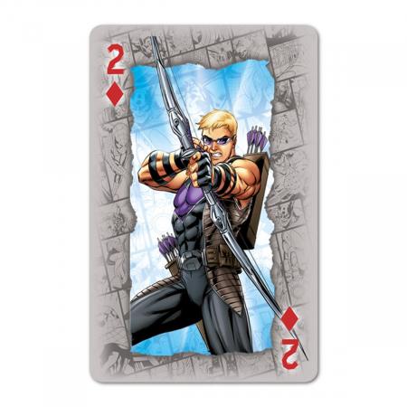Carti de joc Waddingtons Marvel1