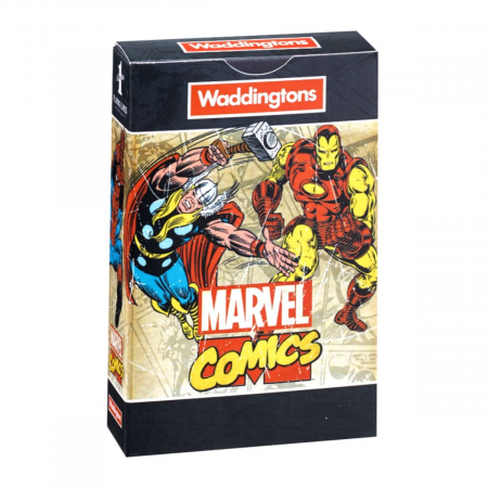 Carti de joc Waddingtons Marvel Retro0