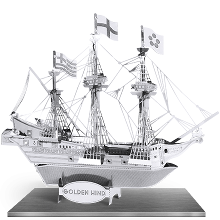 Corabia The Golden Hind0