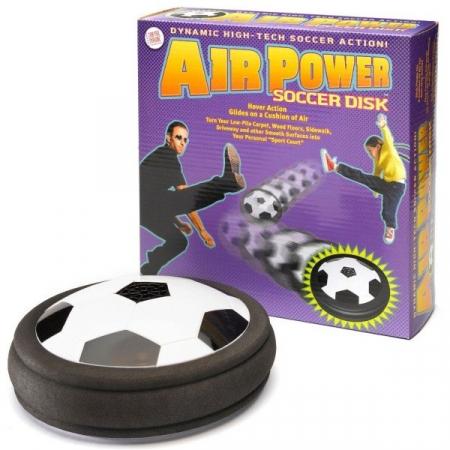 Disc de fotbal pe perna de aer0