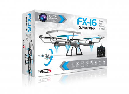 Drona FX16 Quadcopter cu camera video HD3