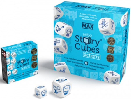 Extensii Story Cubes tematice - Actions MAX1