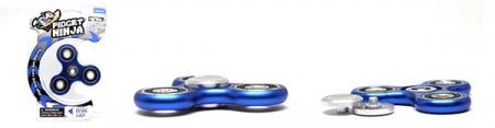Fidget Ninja Metal Spinner - Albastru3