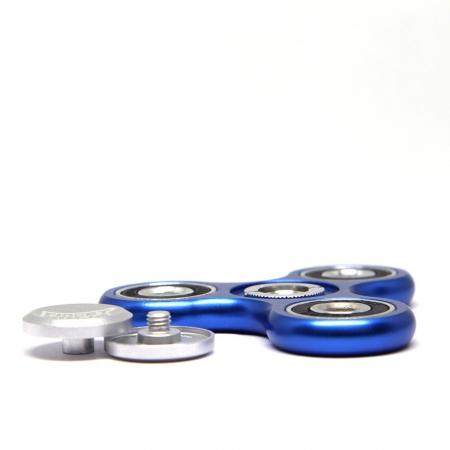 Fidget Ninja Metal Spinner - Albastru1