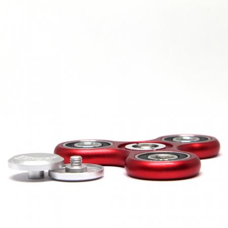 Fidget Ninja Metal Spinner - Rosu [3]