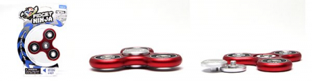 Fidget Ninja Metal Spinner - Rosu [6]