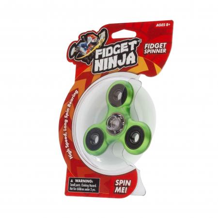 Fidget Ninja Spinner - Verde1