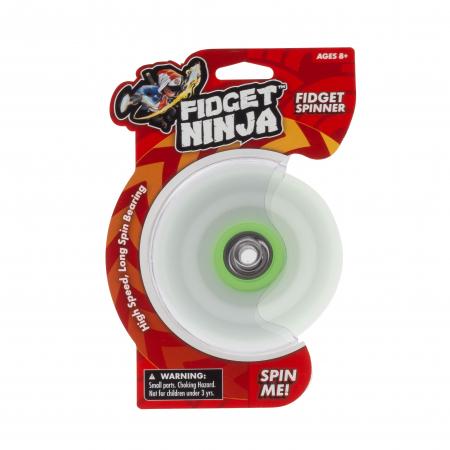Fidget Ninja Spinner - Verde3