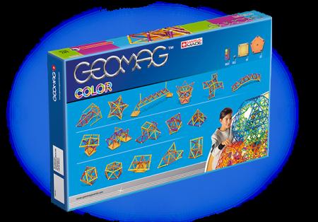 Geomag Color 127 piese - Galben, Portocaliu, Rosu si Mov2