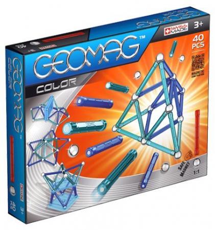 Geomag Color 40 piese - Albastru [0]