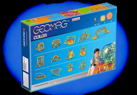 Geomag Color 64 piese - Rosu si Portocaliu2