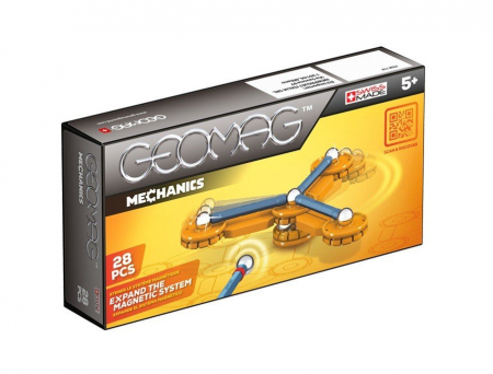 Geomag Mechanics 28 piese - Roata Mecanica0