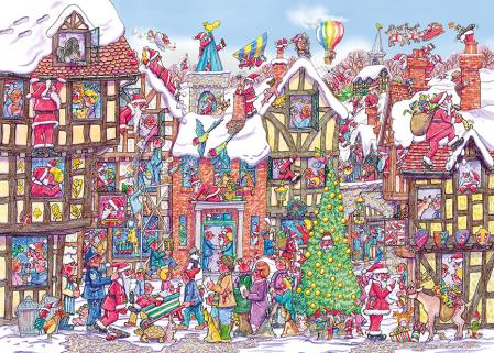 Glob de Craciun cu puzzle 250 piese3