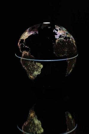 Glob pamantesc - luminile oraselor2