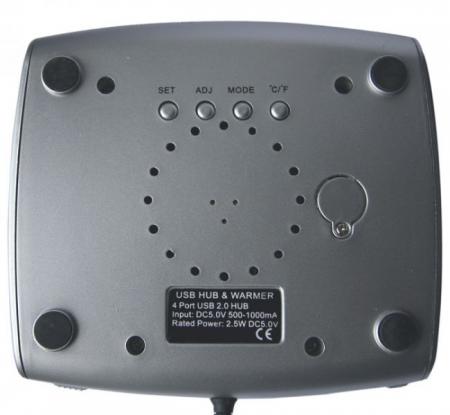 Incalzitor cana pe USB cu LCD2