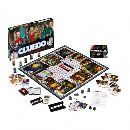 Joc Cluedo - The Big Bang Theory1