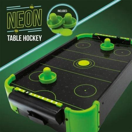 Joc de birou Air Hockey Neon2