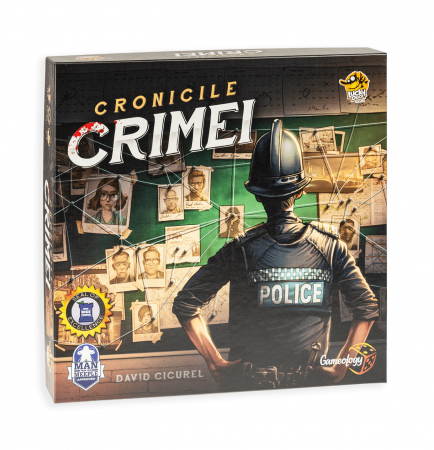 Cronicile Crimei (RO) - Joc de investigatie interactiv