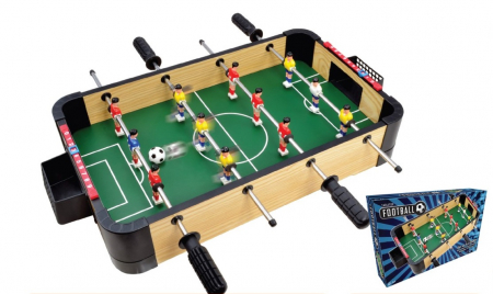 Joc Fotbal de masa din lemn2