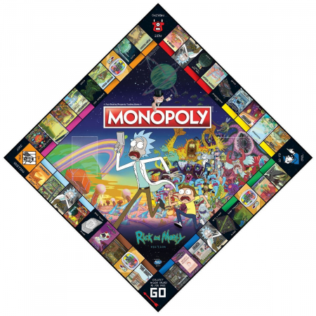 Joc Monopoly - Rick and Morty2