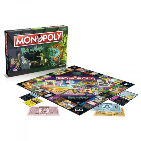 Joc Monopoly - Rick and Morty1