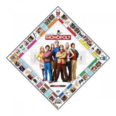 Joc Monopoly - The Big Bang Theory - RO2