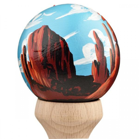 Kendama USA Custom Tribute - Sean Ricks - Red Rocks3