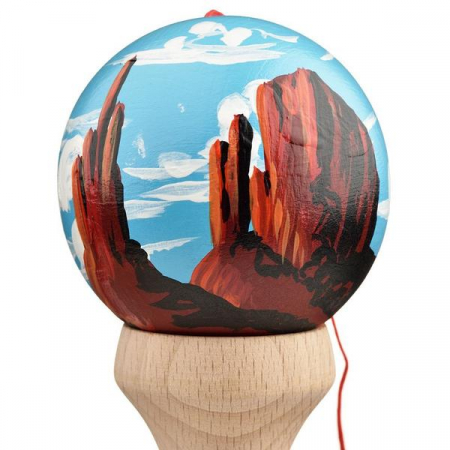 Kendama USA Custom Tribute - Sean Ricks - Red Rocks1