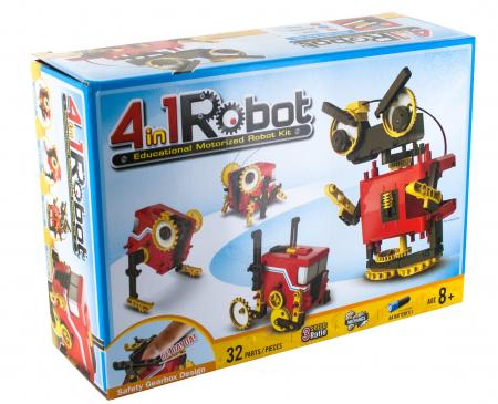 Kit constructie - Robot Motorizat 4 in 1 [4]