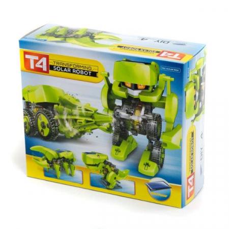 Kit constructie T4 Roboti solari 4 in 1 [4]