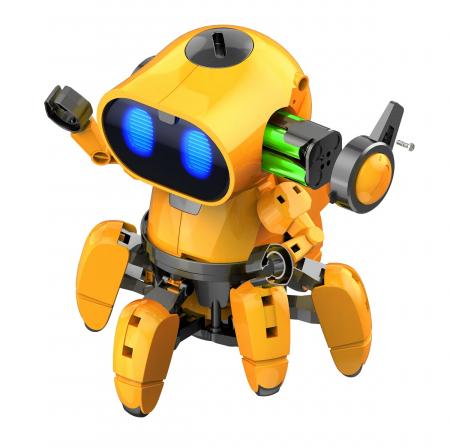 Kit robotica de constructie Robot Tobbie cu inteligenta artificiala (RO) [1]