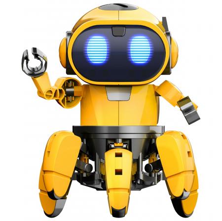 Kit robotica de constructie Robot Tobbie cu inteligenta artificiala (RO) [0]