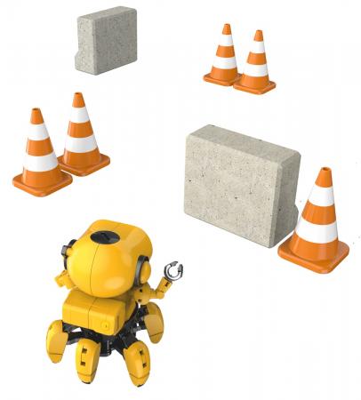 Kit robotica de constructie Robot Tobbie cu inteligenta artificiala (RO) [4]