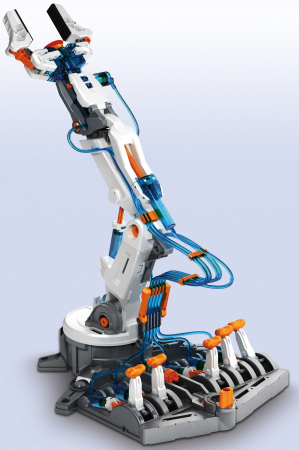 Kit robotica constructie brat hidraulic0