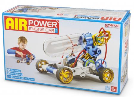 Kit robotica de constructie masina cu motor pe aer [2]