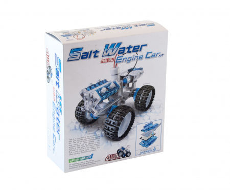 Kit robotica - Masina 4 x 4 cu motor pe apa sarata1