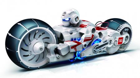 Kit Robotica - Motocicleta pe baza de apa sarata [0]