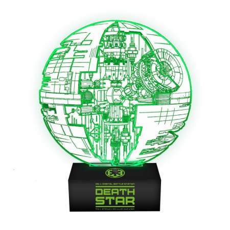 Lampa Death Star1